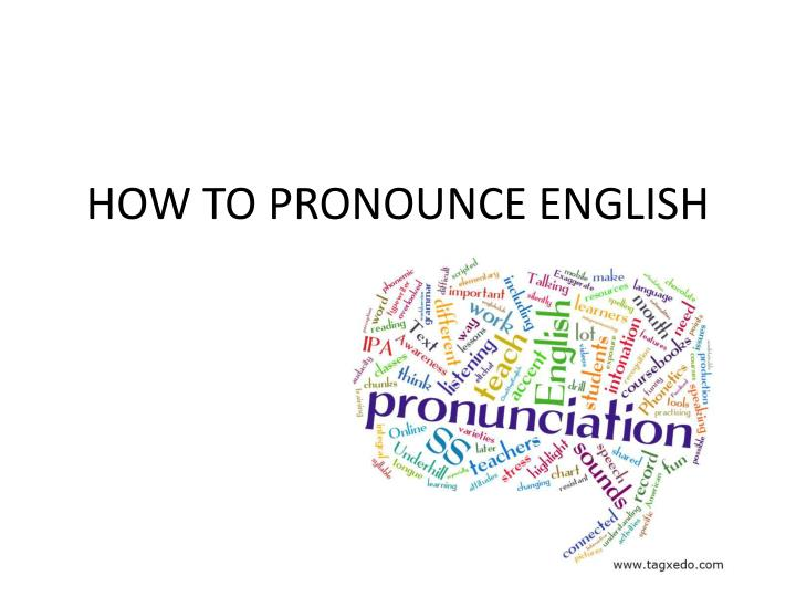 how to pronounce english n.