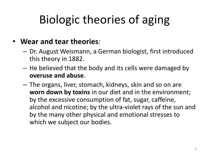 Biologic theories of aging