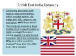 british east india company