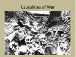causalities of war
