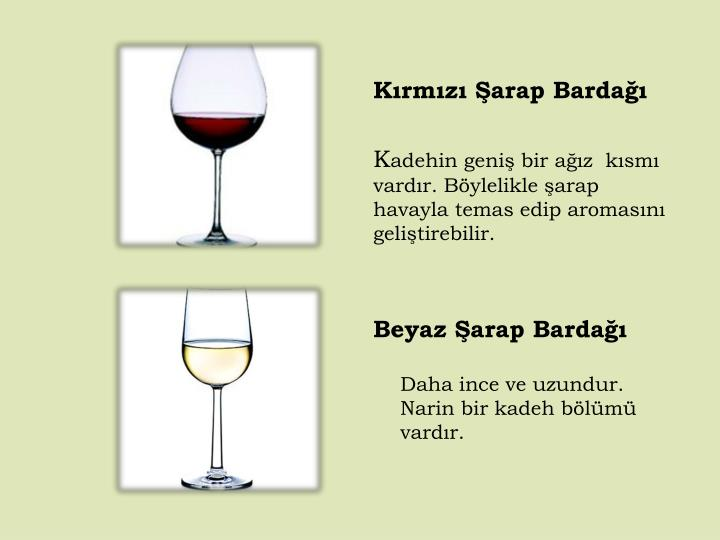 Kırmızı Şarap Bardağı