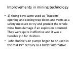improvements in mining technology