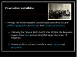 colonialism and africa1