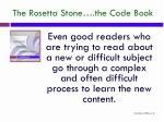 the rosetta stone the code book2