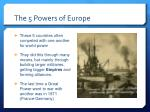 the 5 powers of europe