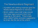 the newfoundland regiment
