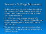 women s suffrage movement1