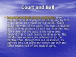 court and ball