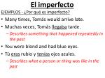 el imperfecto2