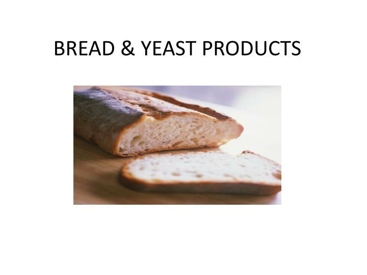 bread yeast products n.