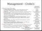 management crohn s