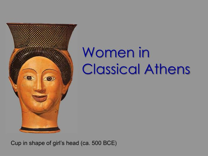 women in classical athens n.