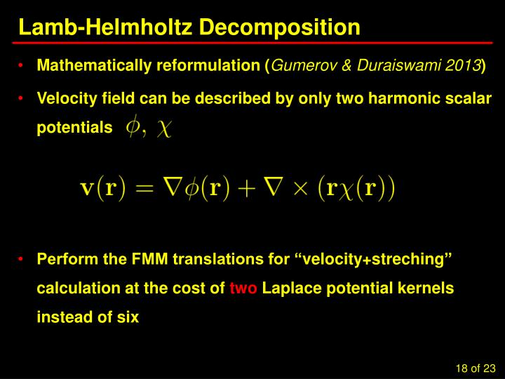 Lamb-Helmholtz