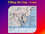 filling the gap urban8