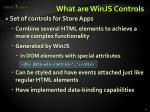 what are winjs controls1