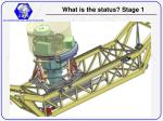 what is the status stage 1