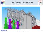 rf power distribution