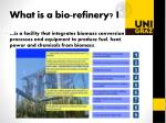 what is a bio refinery i
