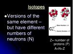isotopes
