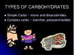 types of carbohydrates2