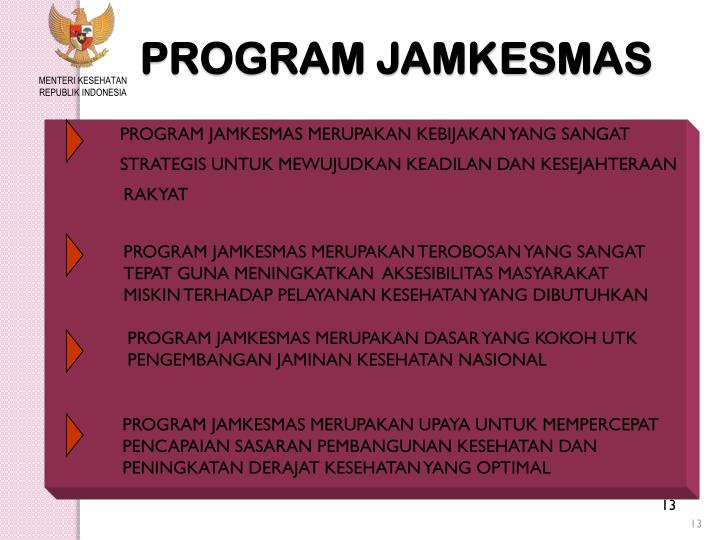 PROGRAM JAMKESMAS