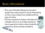 basic information2