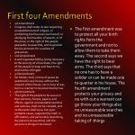 first four amendments