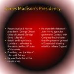 james madison s presidency