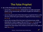 the false prophet1