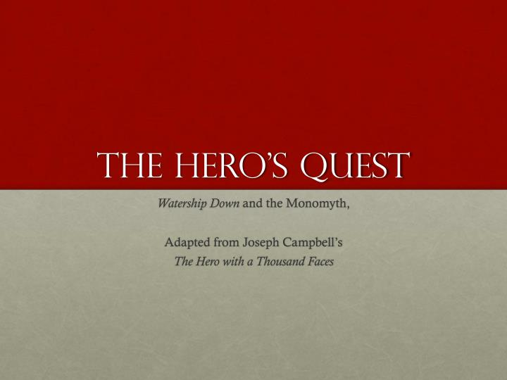 monomyth and personal quest in angela This is known in literary circles as the monomyth or venngage / see this on quest.