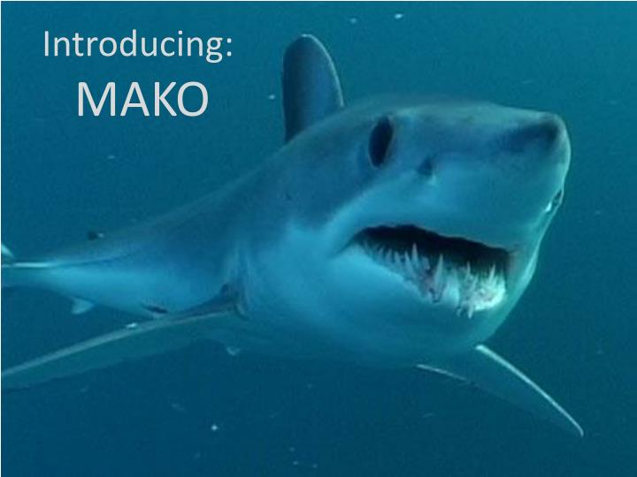 introducing mako n.
