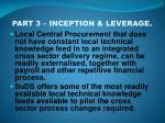 part 3 inception leverage