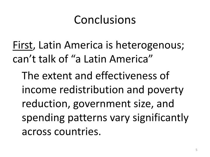 wealth and poverty final in latin america history essay The distinction of wealth and poverty is not necessarily a distinction between good people and bad we can find robbers and cheats among the poor and among the rich, as we can find virtue among both.