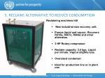 5 reclaim alternative to reduce consumption7