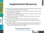 supplemental resources