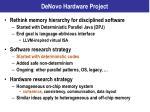 denovo hardware project1