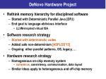 denovo hardware project2