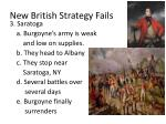 new british strategy fails