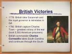 british victories