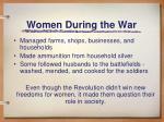 women during the war