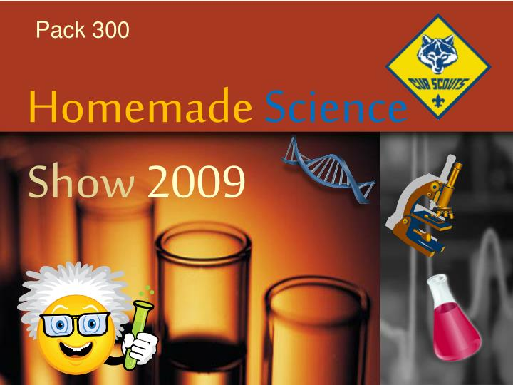 homemade science show 2009 n.