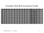 example rick beck consumer credit