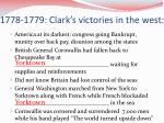 1778 1779 clark s victories in the west