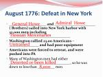 august 1776 defeat in new york