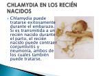 chlamydia en los reci n nacidos