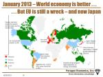 january 2013 world economy is better