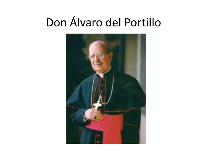 don lvaro del portillo n.