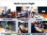 math career night