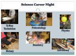 science career night