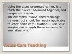 acute care teaching9